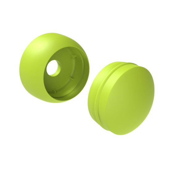 PLASTIC BOLT COVER (10pk) Lime