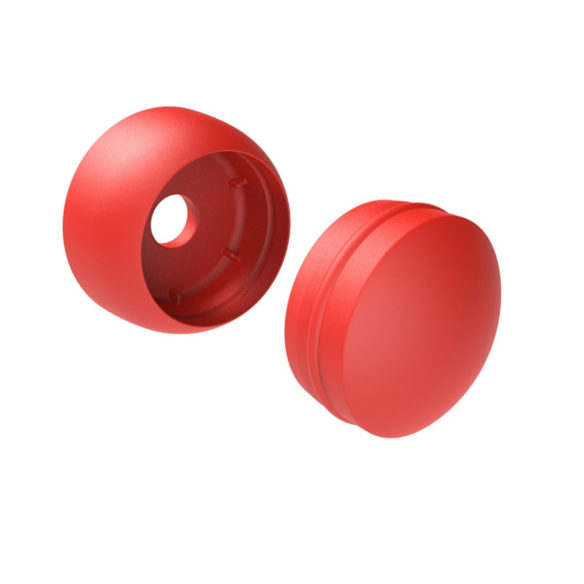 PLASTIC BOLT COVER (10pk) Red