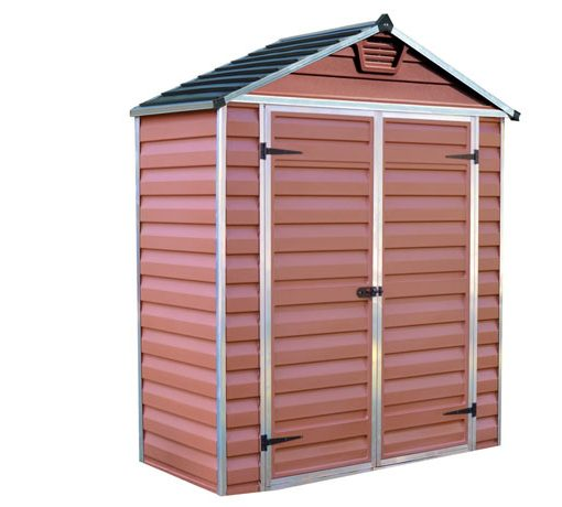 Skylight Polycarbonate Shed 6x3