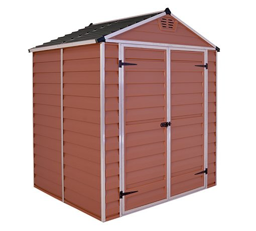 Skylight Polycarbonate Shed 6x5