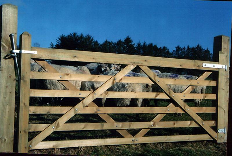 6-Bar Stud Gate